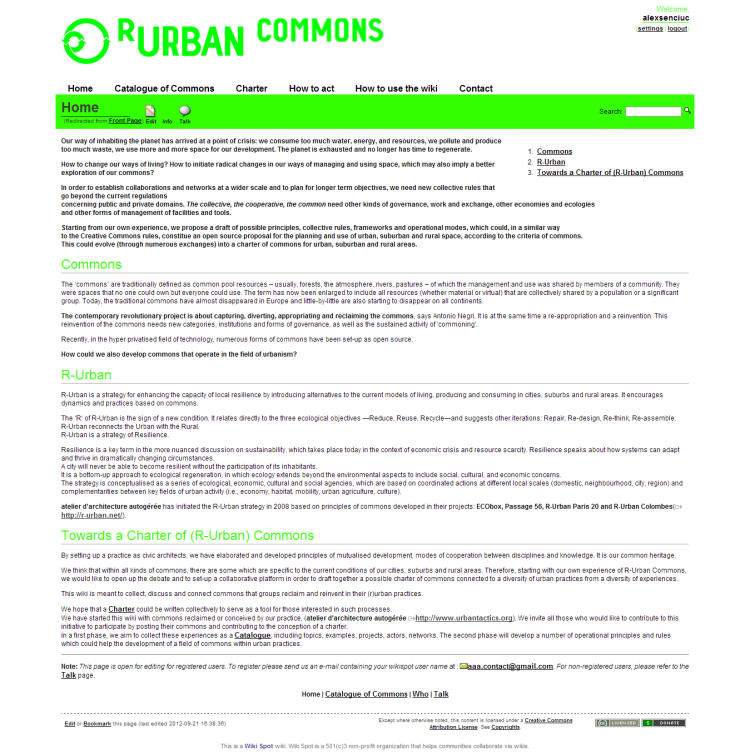 R-Urban Commons