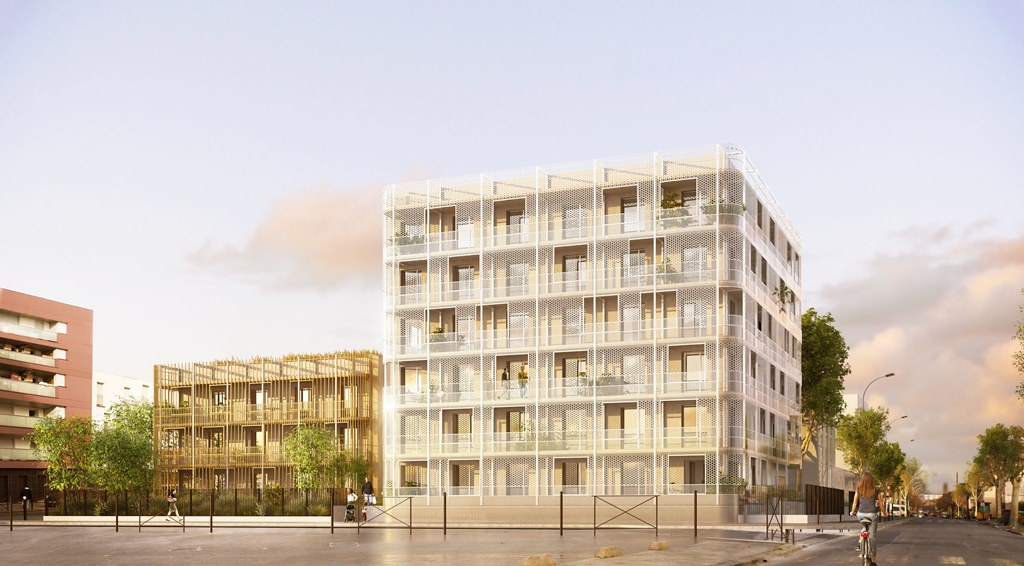 30 housing units at vitry sur seine alexandru senciuc. Black Bedroom Furniture Sets. Home Design Ideas