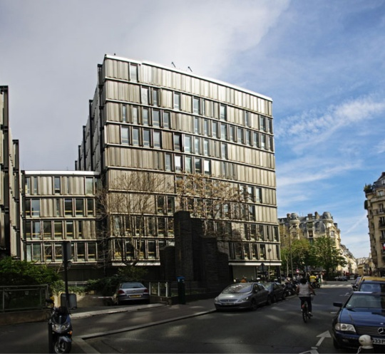 Original building before restoration