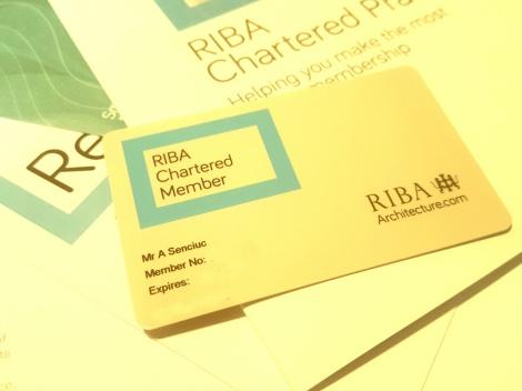 RIBA Chartered Member